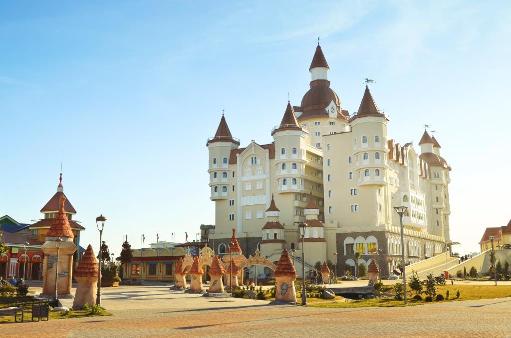 Отдых в сочи отель богатырь