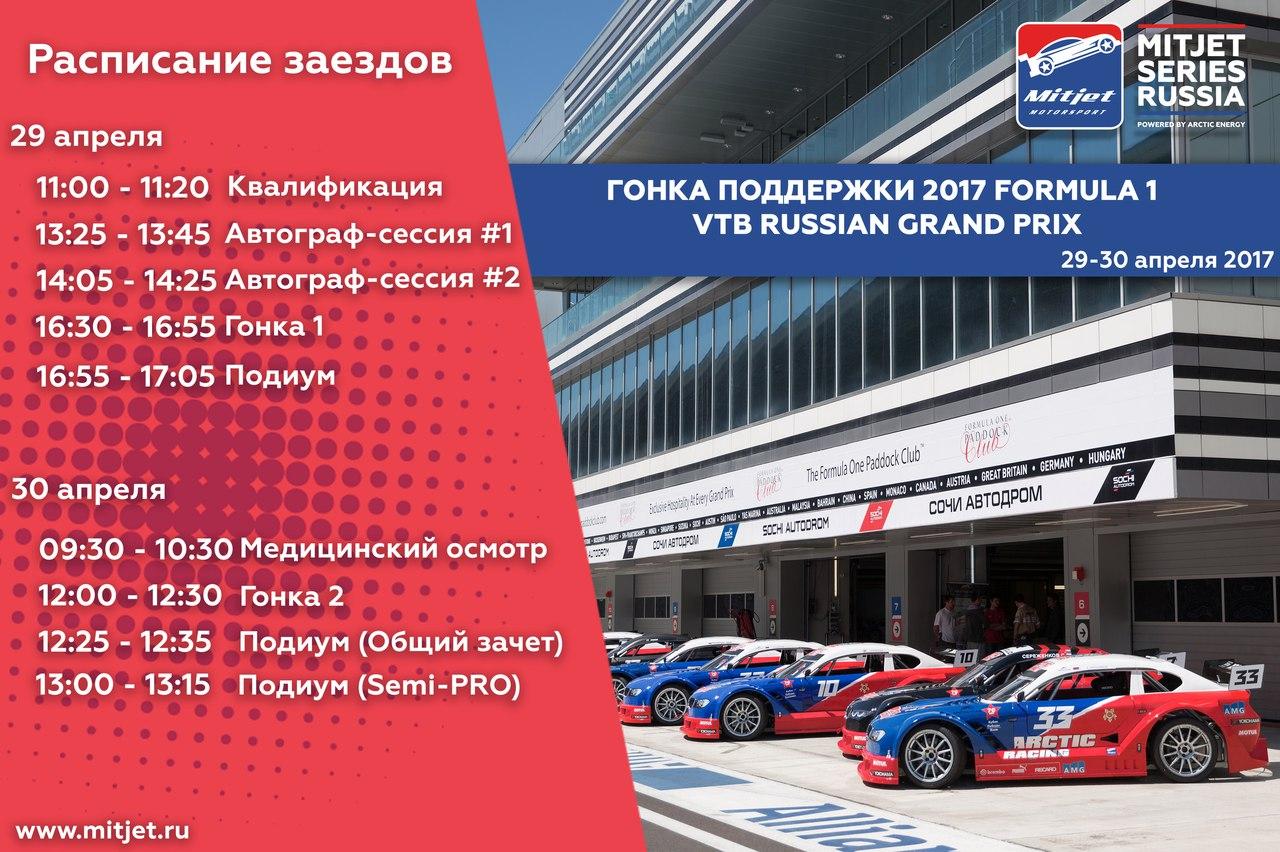 Формула 1 в Сочи 2017 - Гран-При России