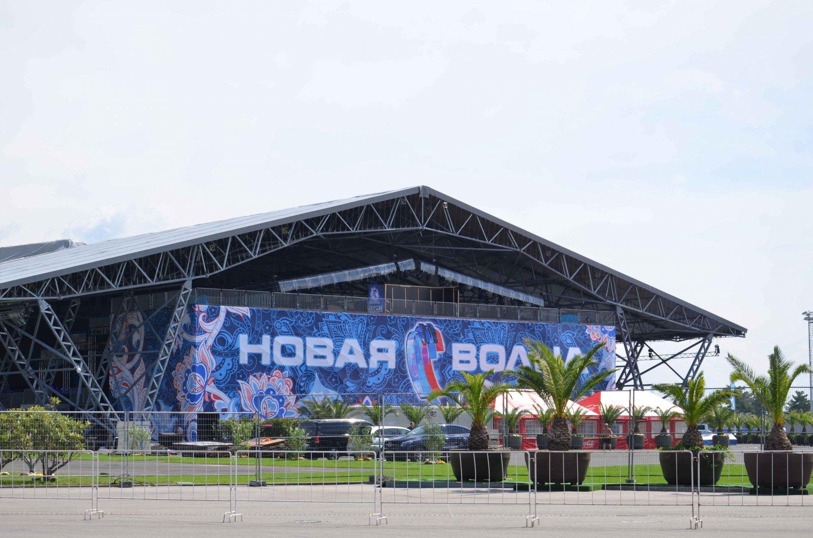 8 сентября 2017 года в олимпийском парке откроется уникальный концертный зал new wave hall